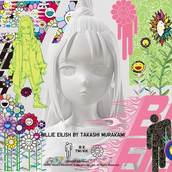 BillieEilish_TakashiMurakami