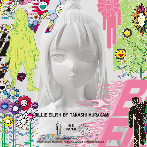 BILLIE EILISH × TAKASHI MURAKAMI