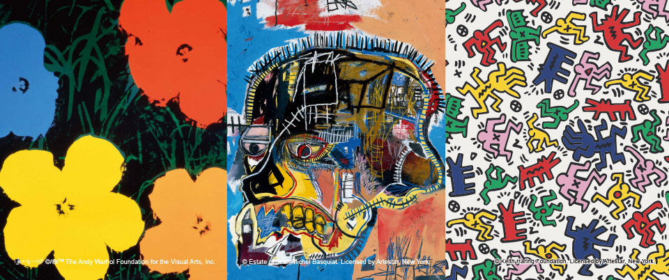Andy Warhol/J.M.Basquiat/Keith Haring