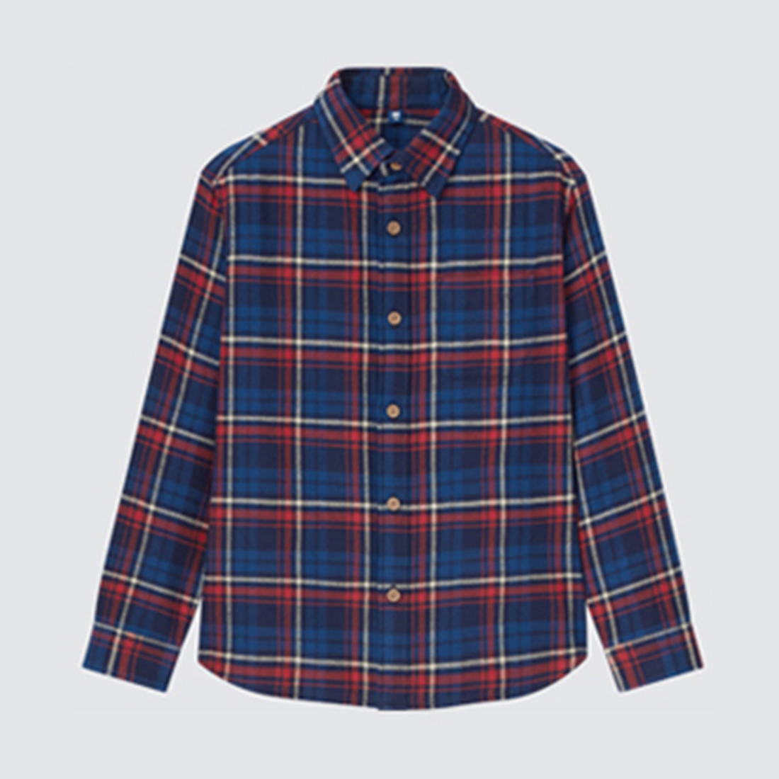 KIDS플란넬체크셔츠