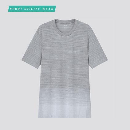 DRY-EX크루넥T(반팔)그라데이션