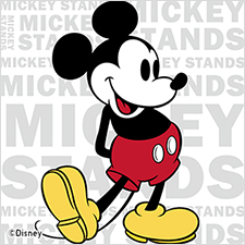 MICKEY STANDS