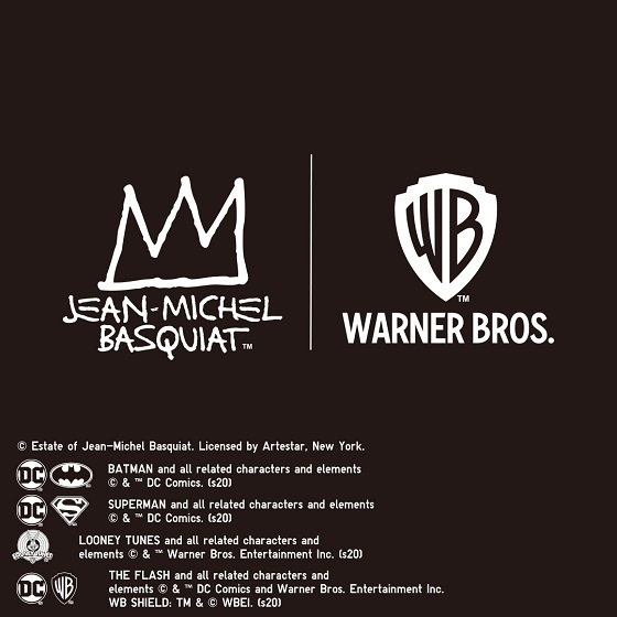 Basquiat x Warner Bros.