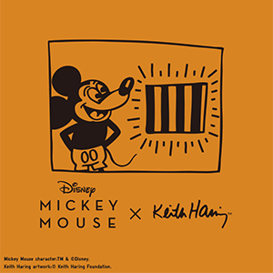 Mickey Mouse x Keith Haring