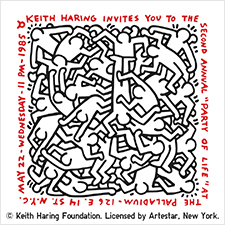 KeithHaringParty
