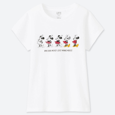 GIRLS DISNEY UT CELEBRATE MICKEY(그래픽T·반팔)A