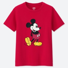 KIDS DISNEY UT MICKEY STANDS(그래픽T·반팔)19SS