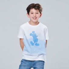 KIDS DISNEY UT MICKEY BLUE(그래픽T·반팔)A