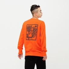 Keith Haring그래픽스웨트셔츠(긴팔)B