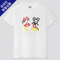 KIDS DISNEY UT MICKEY ART(반팔)A
