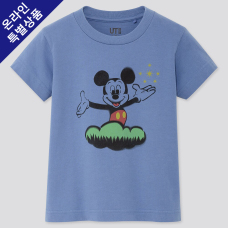 KIDS DISNEY UT MICKEY ART(그래픽T·반팔)C