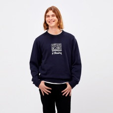 Keith Haring그래픽스웨트셔츠(긴팔)C