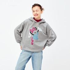 MICKEY ART스웨트후디(긴팔)B