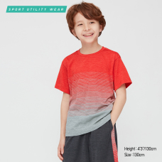 KIDS DRY-EX크루넥T(반팔)맵핑