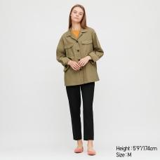 리넨코튼셔츠재킷
