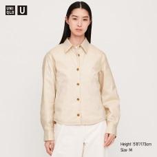 U패디드셔츠재킷