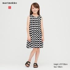 GIRLS Marimekko슬리브리스원피스
