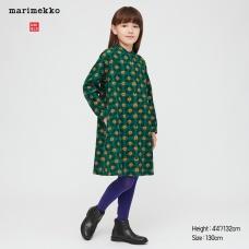 GIRLS Marimekko플란넬원피스(긴팔)C