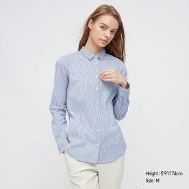 SUPIMA COTTON스트레치셔츠(긴팔)스트라이프21SS