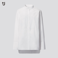 +J SUPIMA COTTON턱셔츠(긴팔)