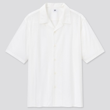 코튼모달오픈칼라셔츠(반팔)