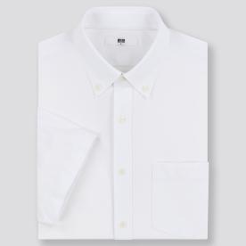 드라이이지케어컴포트셔츠(반팔·버튼다운칼라)