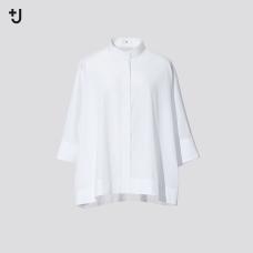 +J SUPIMA COTTON돌먼슬리브셔츠(7부)