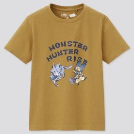 KIDS Monster Hunter Rise UT(그래픽T·반팔)A