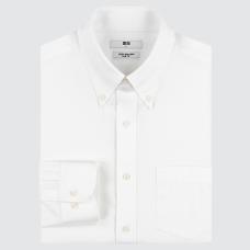 슈퍼넌아이론슬림피트셔츠(긴팔·버튼다운칼라)