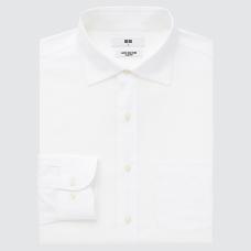 슈퍼넌아이론슬림피트셔츠(긴팔·세미와이드칼라)