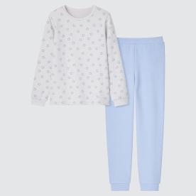 GIRLS AIRism울트라스트레치세트(긴팔)스타