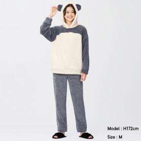GU마시멜로우필라운지세트(긴팔·팬더)